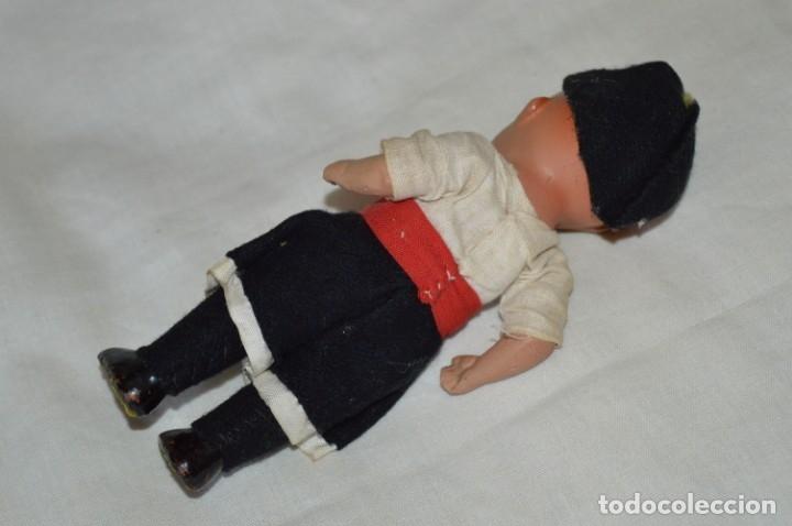 Muñeca española clasica: Antigua muñeco con ropa - CERÁMICA / TERRACOTA / BARRO / ARCILLA... Preciosa ¡Mira fotos/detalles! - Foto 5 - 174934453