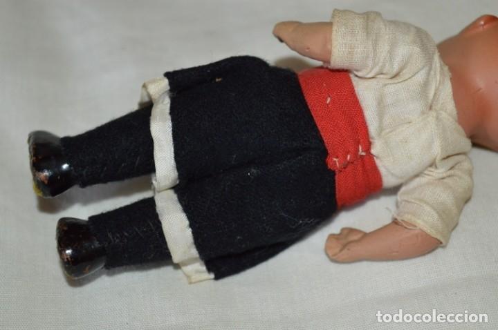 Muñeca española clasica: Antigua muñeco con ropa - CERÁMICA / TERRACOTA / BARRO / ARCILLA... Preciosa ¡Mira fotos/detalles! - Foto 7 - 174934453