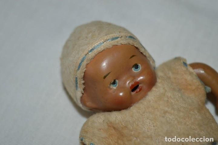 Muñeca española clasica: Antiguo muñeco / bebe - CERÁMICA / TERRACOTA / BARRO / ARCILLA... Precioso ¡Mira fotos/detalles! - Foto 6 - 174937707