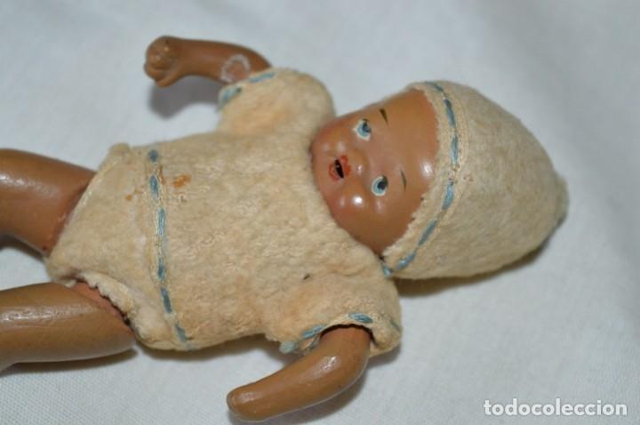 Muñeca española clasica: Antiguo muñeco / bebe - CERÁMICA / TERRACOTA / BARRO / ARCILLA... Precioso ¡Mira fotos/detalles! - Foto 7 - 174937707