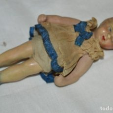 Muñeca española clasica: ANTIGUA MUÑECA VESTIDA - CERÁMICA / TERRACOTA / BARRO / ARCILLA... PRECIOSA ¡MIRA FOTOS/DETALLES!. Lote 174941364