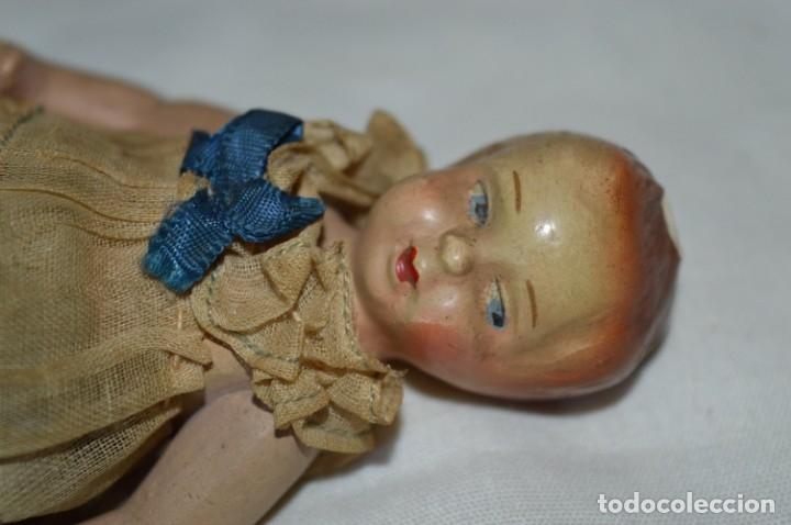 Muñeca española clasica: Antigua muñeca vestida - CERÁMICA / TERRACOTA / BARRO / ARCILLA... Preciosa ¡Mira fotos/detalles! - Foto 3 - 174941364