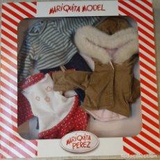 Muñeca española clasica: VESTIDO MARIQUITA PEREZ MODEL TRAJE. Lote 175746362