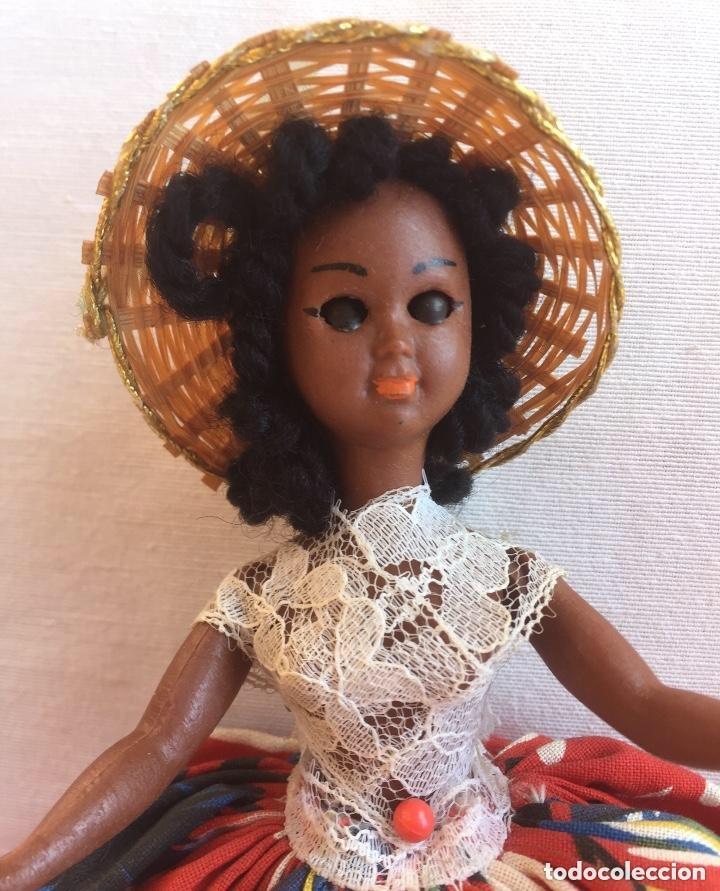 Muñeca española clasica: Preciosa muñeca negrita celuloide - Foto 12 - 169569360