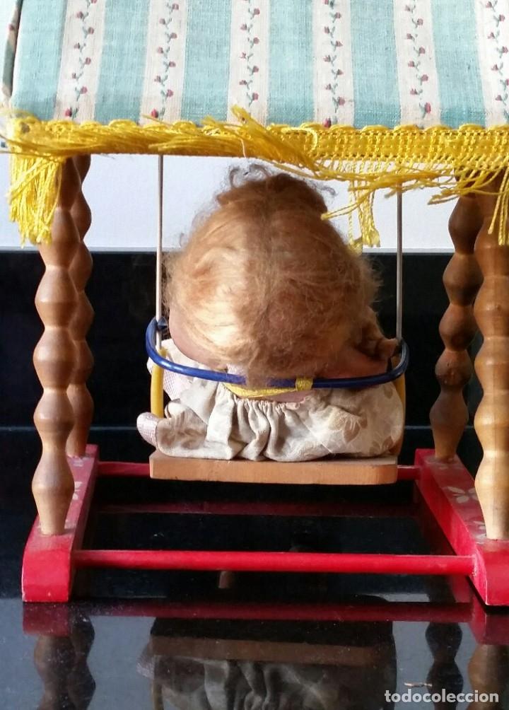 Muñeca española clasica: COLUMPIO SONORO PIT AÑOS 50 EN SU CAJA ORIGINAL - Foto 6 - 175901434