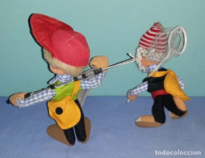 Muñeca española clasica: 2 MUÑECOS ANTIGUOS DE FIELTRO ROLDAN LAYNA ? VER FOTOS Y DESCRIPCION - Foto 2 - 176414079