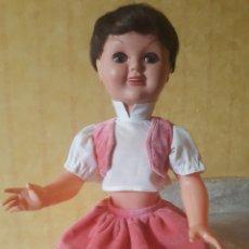 Muñeca española clasica: MUÑECA MARISOL , MARISÚ DE DURPE AÑOS 50 ... Lote 176765918