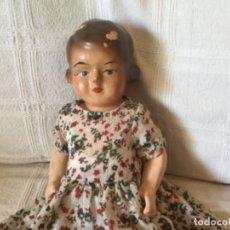 Muñeca española clasica: ANTIGUA MUÑECA PAPEL MACHE 1920-1930. Lote 176824839