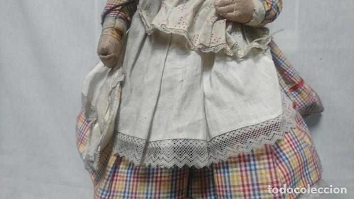 Muñeca española clasica: ANTIGUA MUÑECA DE COMPOSICIÓN CON LLORÓN, AÑOS 40 - Foto 6 - 178124214