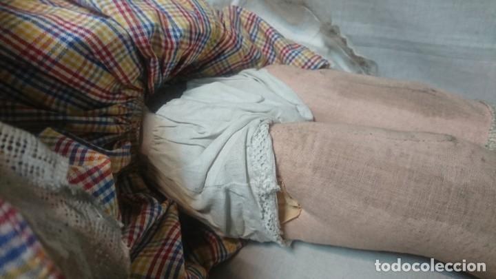 Muñeca española clasica: ANTIGUA MUÑECA DE COMPOSICIÓN CON LLORÓN, AÑOS 40 - Foto 10 - 178124214