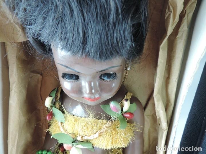 Muñeca española clasica: Bonita Muñeca negrita articulada de la marca SISSI referencia 514, en su caja original, Medidas:46 - Foto 4 - 178749112