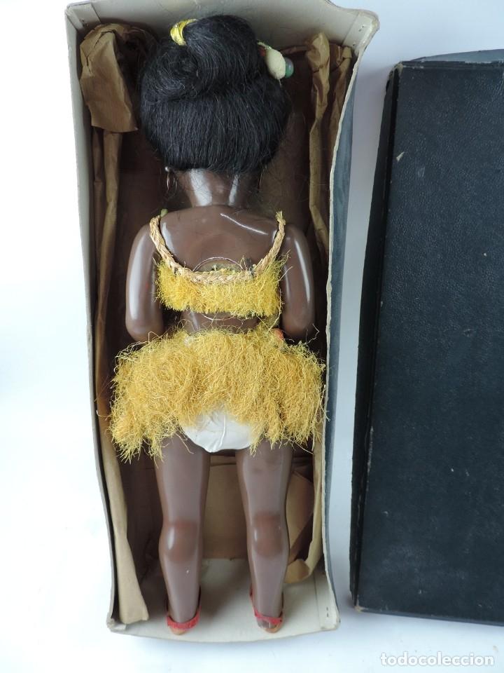 Muñeca española clasica: Bonita Muñeca negrita articulada de la marca SISSI referencia 514, en su caja original, Medidas:46 - Foto 8 - 178749112