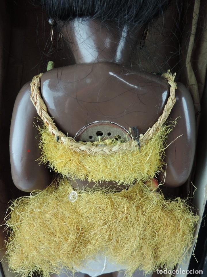 Muñeca española clasica: Bonita Muñeca negrita articulada de la marca SISSI referencia 514, en su caja original, Medidas:46 - Foto 9 - 178749112