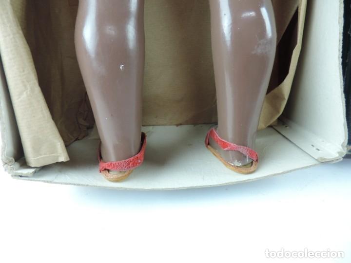 Muñeca española clasica: Bonita Muñeca negrita articulada de la marca SISSI referencia 514, en su caja original, Medidas:46 - Foto 10 - 178749112