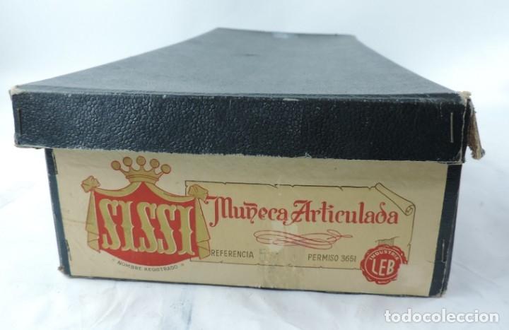 Muñeca española clasica: Bonita Muñeca negrita articulada de la marca SISSI referencia 514, en su caja original, Medidas:46 - Foto 11 - 178749112