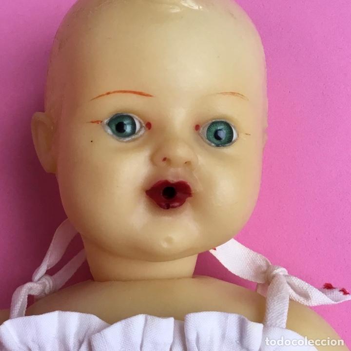 Muñeca española clasica: Bebé en caucho años 50 estilo Miguelín - Foto 2 - 180496026