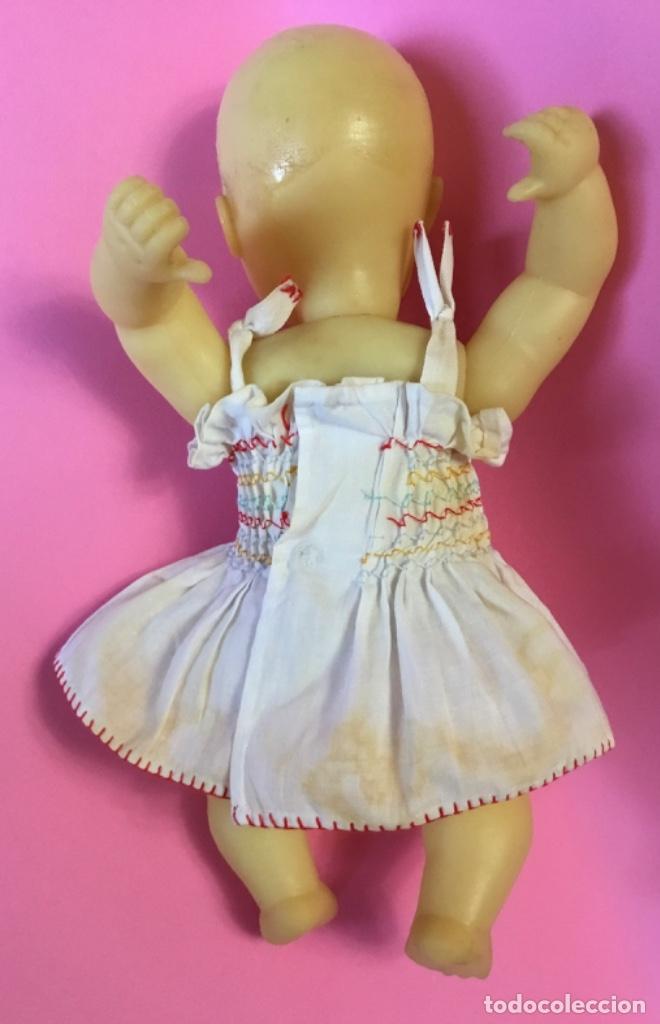 Muñeca española clasica: Bebé en caucho años 50 estilo Miguelín - Foto 11 - 180496026