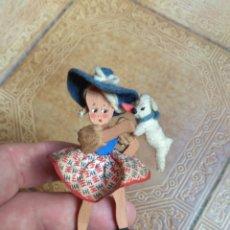 Muñeca española clasica: ANTIGUA MUÑECA DE MADERA DENIA. Lote 181523950