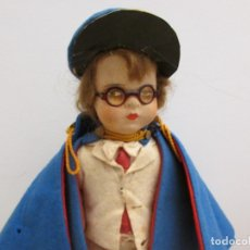 Muñeca española clasica: MUÑECO ESTILO LENCI. NATI , PAGES O SIMILAR AÑOS 40-50. Lote 181594678