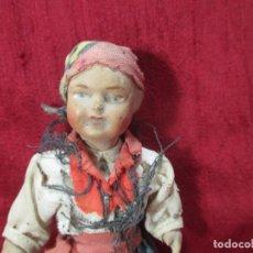 Muñeca española clasica: ANTIGUA MUÑECA MIDE UNOS 15 CM. Lote 181876786