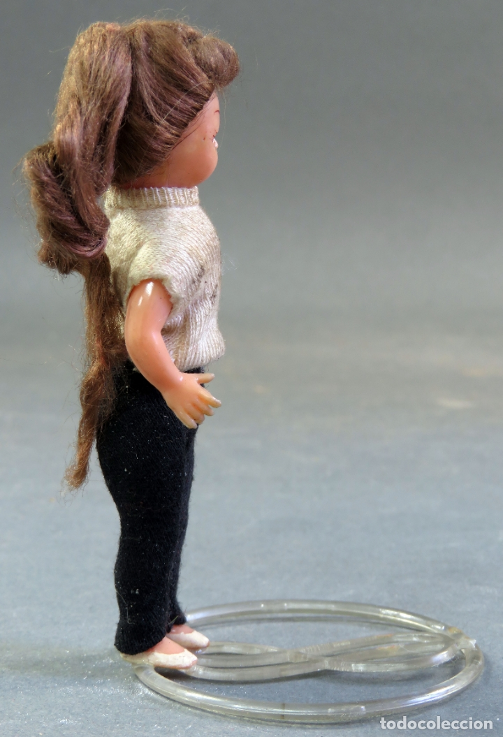 Muñeca española clasica: Muñeca celuloide articulada ojo durmiente base plástico años 50 11 cm - Foto 4 - 182274190
