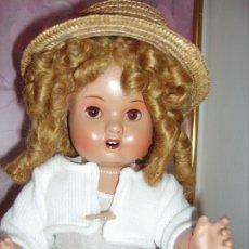 Muñeca española clasica: PRECIOSA MUÑECA ESPAÑOLA, AÑOS 40/50 DE TERRACOTA. Lote 182308965