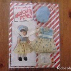 Muñeca española clasica: MARIQUITA PÉREZ CONJUNTO DE ENTRETIEMPO PARA MUÑECA DE 20 CM. FASCÍCULO 9. Lote 182592150
