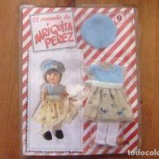 Muñeca española clasica: MARIQUITA PÉREZ CONJUNTO DE ENTRETIEMPO PARA MUÑECA DE 20 CM. FASCÍCULO 9. Lote 182592258