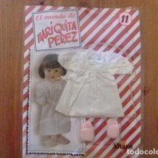 Muñeca española clasica: MARIQUITA PÉREZ CAMISÓN VICTORIANO Y ZAPATILLAS FASCÍCULO 11. Lote 182592512