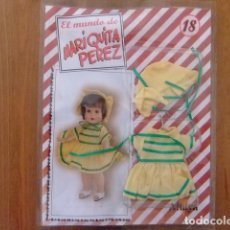 Muñeca española clasica: MARIQUITA PÉREZ CONJUNTO CAMPESTRE FASCÍCULO 18. Lote 182593017