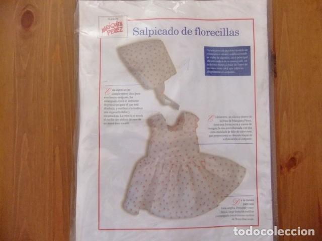 Muñeca española clasica: MARIQUITA PÉREZ VESTIDO ESTAMPADO CON FLORES FASCÍCULO 28 - Foto 2 - 236296060