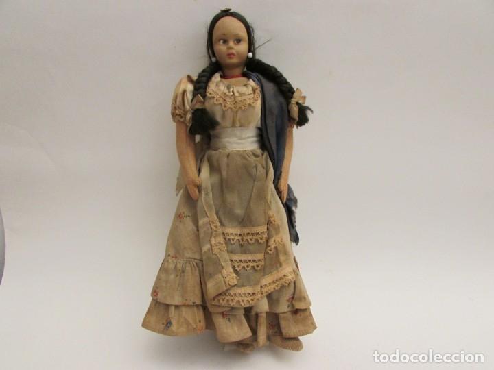 Muñeca española clasica: MUÑECA VESTIDA DE TRAJE REGIONAL - Foto 2 - 183331011