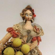 Muñeca española clasica: MUÑECA AÑOS 50 DE LA CASA LAYNA O SIMILAR. Lote 183331480