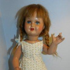 Muñeca española clasica: ANTIGUA MUÑECA MARY CRIS - DE LA CASA FLORIDO - AÑOS 50, CABELLO NATURAL, OJO DURMIENTE, CONSERVA T. Lote 183741456