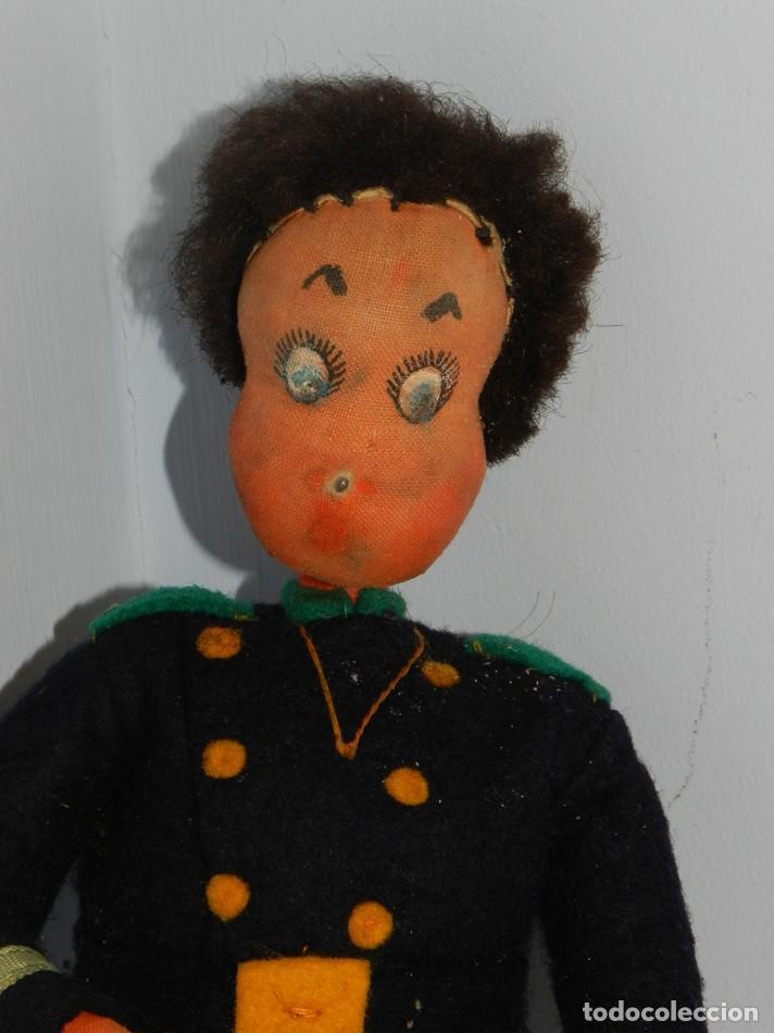 Muñeca española clasica: ANTIGUA MUÑECO DE LA MARCA KLUMPE - FIRMADAS POR JUAN ROLDAN, LAS EXTREMIDADES SON DE ALAMBRE LO QU - Foto 2 - 183742818