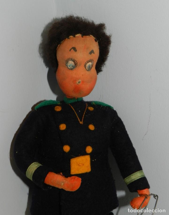 Muñeca española clasica: ANTIGUA MUÑECO DE LA MARCA KLUMPE - FIRMADAS POR JUAN ROLDAN, LAS EXTREMIDADES SON DE ALAMBRE LO QU - Foto 5 - 183742818