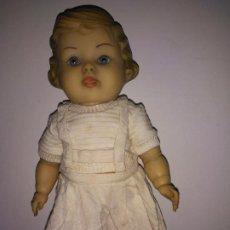 Muñeca española clasica: ANTIGUA MUÑECA DE GOMA (30 CM). Lote 184467126