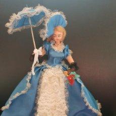 Muñeca española clasica: MUÑECA LAYNA DE ÉPOCA AÑOS 50. Lote 184533257