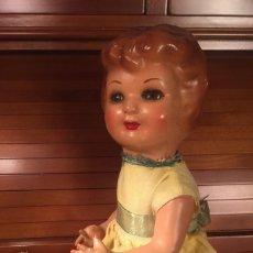 Muñeca española clasica: MUÑECA CARTÓN PIEDRA 35CM. AÑOS 30-40. Lote 184539903