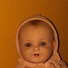 Muñeca española clasica: MUÑECO ANTIGUO CARTON PIEDRA AÑOS 30 PERFECTO ESTADO. Lote 186333981