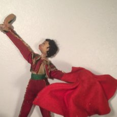 Muñeca española clasica: MUÑECA MUÑECO KLUMPE TORERO MATADOR CON OREJA . Lote 187082936
