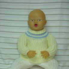 Muñeca española clasica: MUÑECO FERNANDIN DE NEMROD *GRABADO EN LA ESPALDA* GOMA ANTIGUA*ESTUPENDO COLOR* AÑOS 50. Lote 187331451