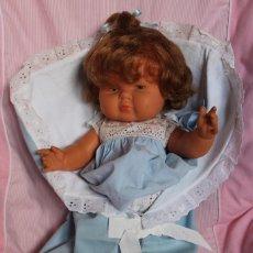 Muñeca española clasica: PRECIOSA MUÑECA DULCITA TAMAÑO GRANDE, ESPECTACULAR, DE JUGUETERIA - DOLL POUPÉE. Lote 187369441