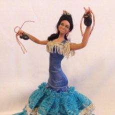 Bambola spagnola classica: MUÑECA GITANA 22 CM. Lote 187412601