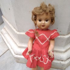Muñeca española clasica: MUÑECA DE CARTÓN PIEDRA. Lote 187424540