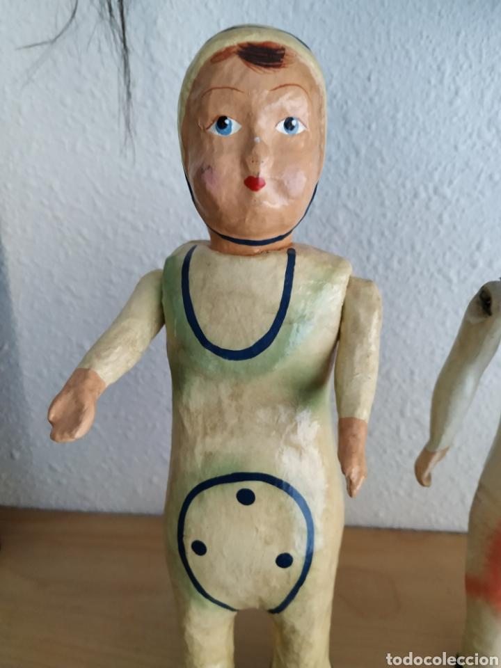 Muñeca española clasica: Carton piedra - Foto 7 - 189938518
