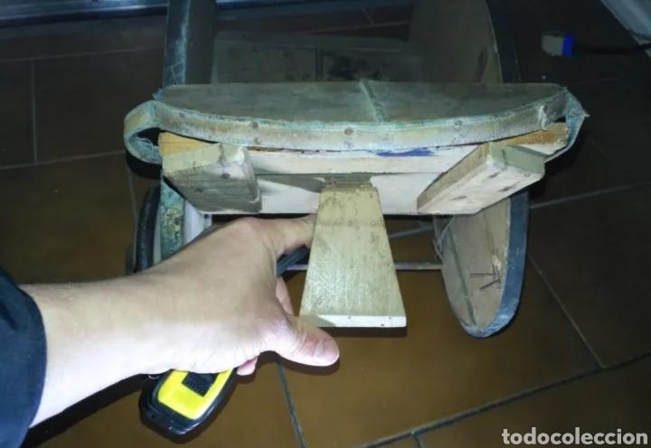 Muñeca española clasica: Antiguo Cochecito madera muñeca para restaurar - Foto 5 - 190833552