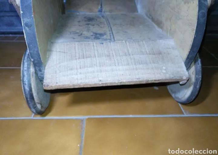 Muñeca española clasica: Antiguo Cochecito madera muñeca para restaurar - Foto 8 - 190833552