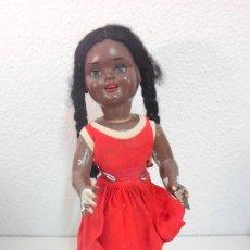Muñeca española clasica: MUÑECA ERPE NEGRITA - ORIGINAL AÑOS 50. Lote 191446237