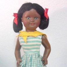 Muñeca española clasica: MUÑECA NEGRITA VIBEVI - AÑOS 50. Lote 191447072